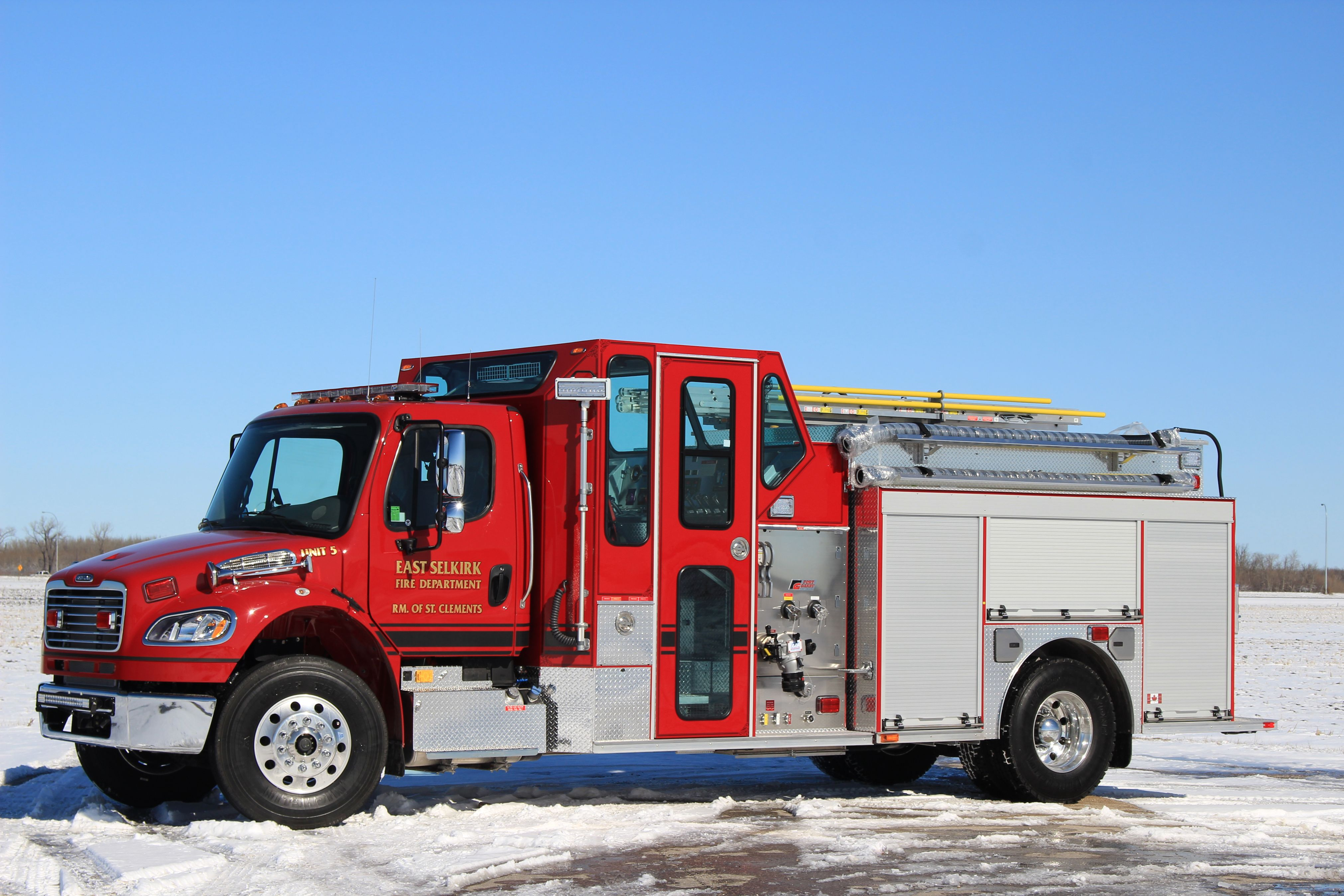 Rm Of St Clements East Selkirk Fire Department Fort